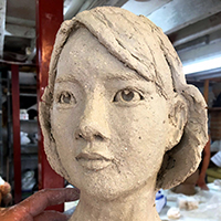 Sculpting the Head in Clay with Richard Byrnes - Holiday Workshop