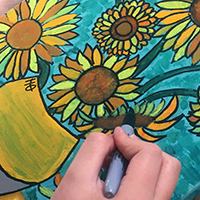 Paint Your Own Masterpiece - for ages 7-12