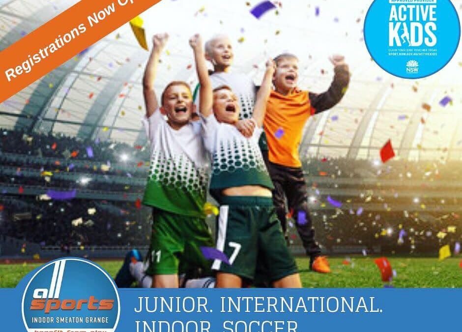 REGISTRATIONS ARE NOW OPEN FOR THIS SEASONS JUNIOR…
