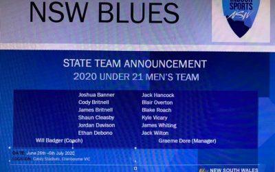 NSW 21 MENS TEAM…