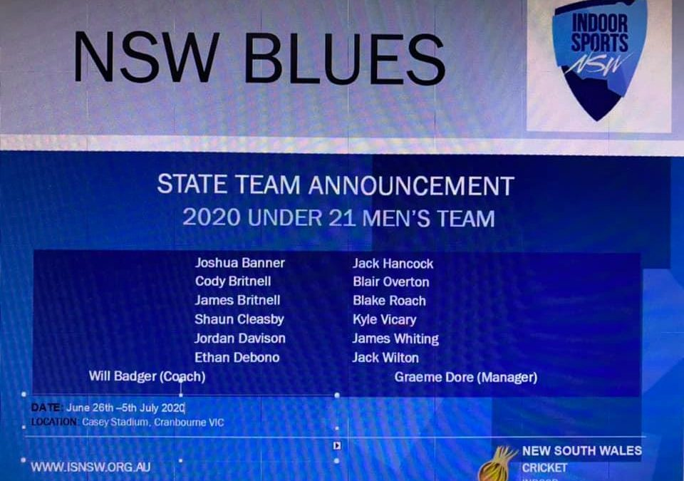 NSW 21 MENS TEAM…