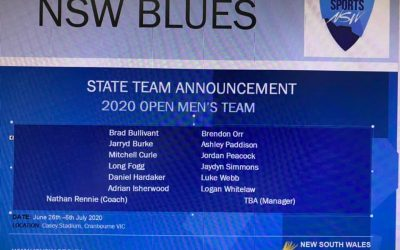 NSW MENS OPEN TEAM…