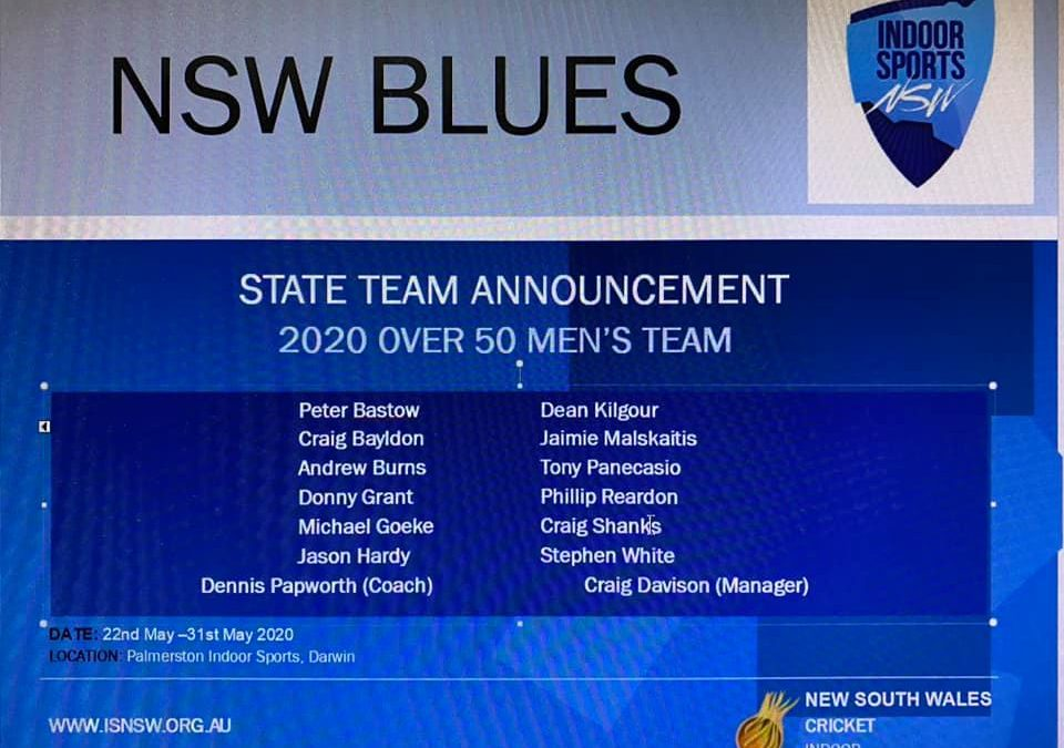 Updated NSW 50 Mens Team welcome                  CRAIG SHANKS…