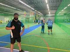The 35's & 40's State Cricket teams hard at wo…