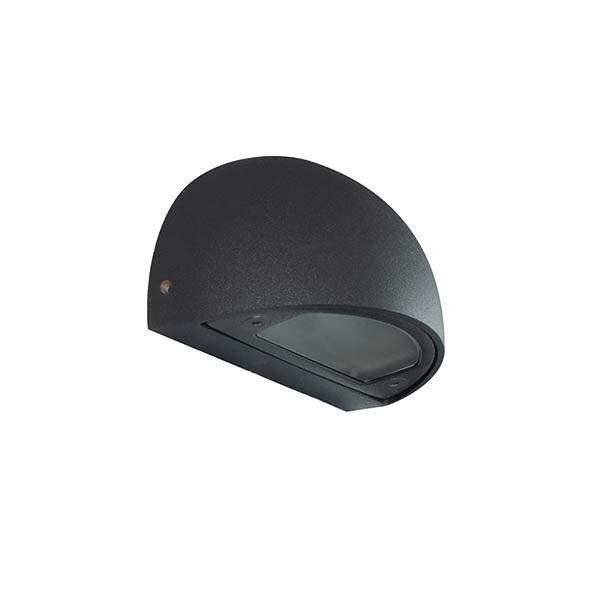 Step light round 100 black 600x600