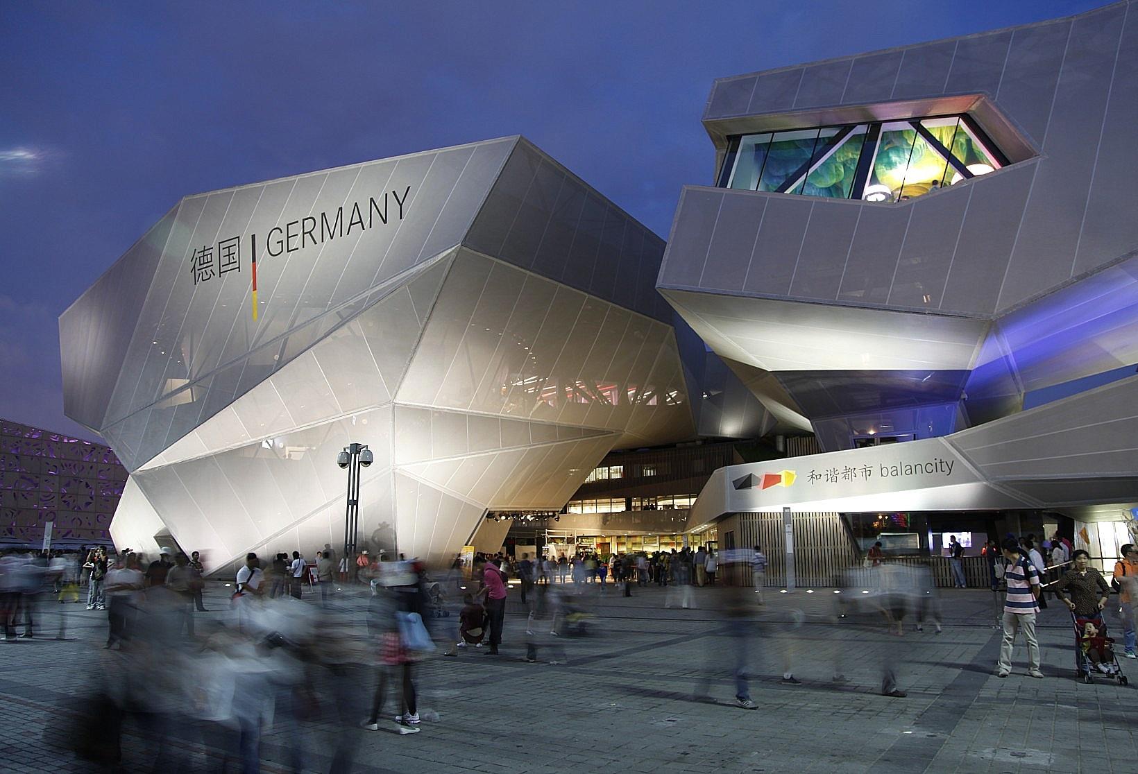 Beamer gross  eur erco expo shanghai 2010 german pavilion solut 1 20
