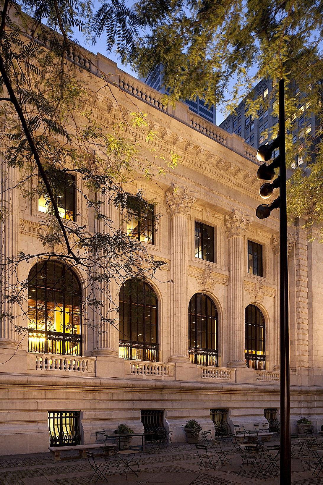Beamer gross  eur erco new york public library stephen a schwarzman building image 1 2