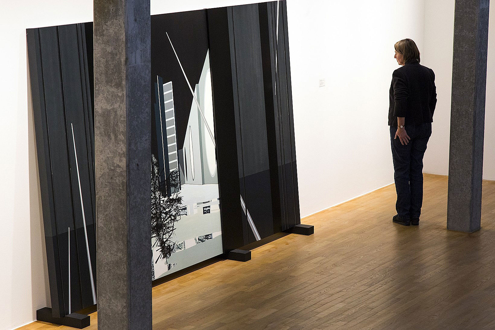 Lightboard gross  eur erco municipal gallery bietigheim bissingen image 1 5