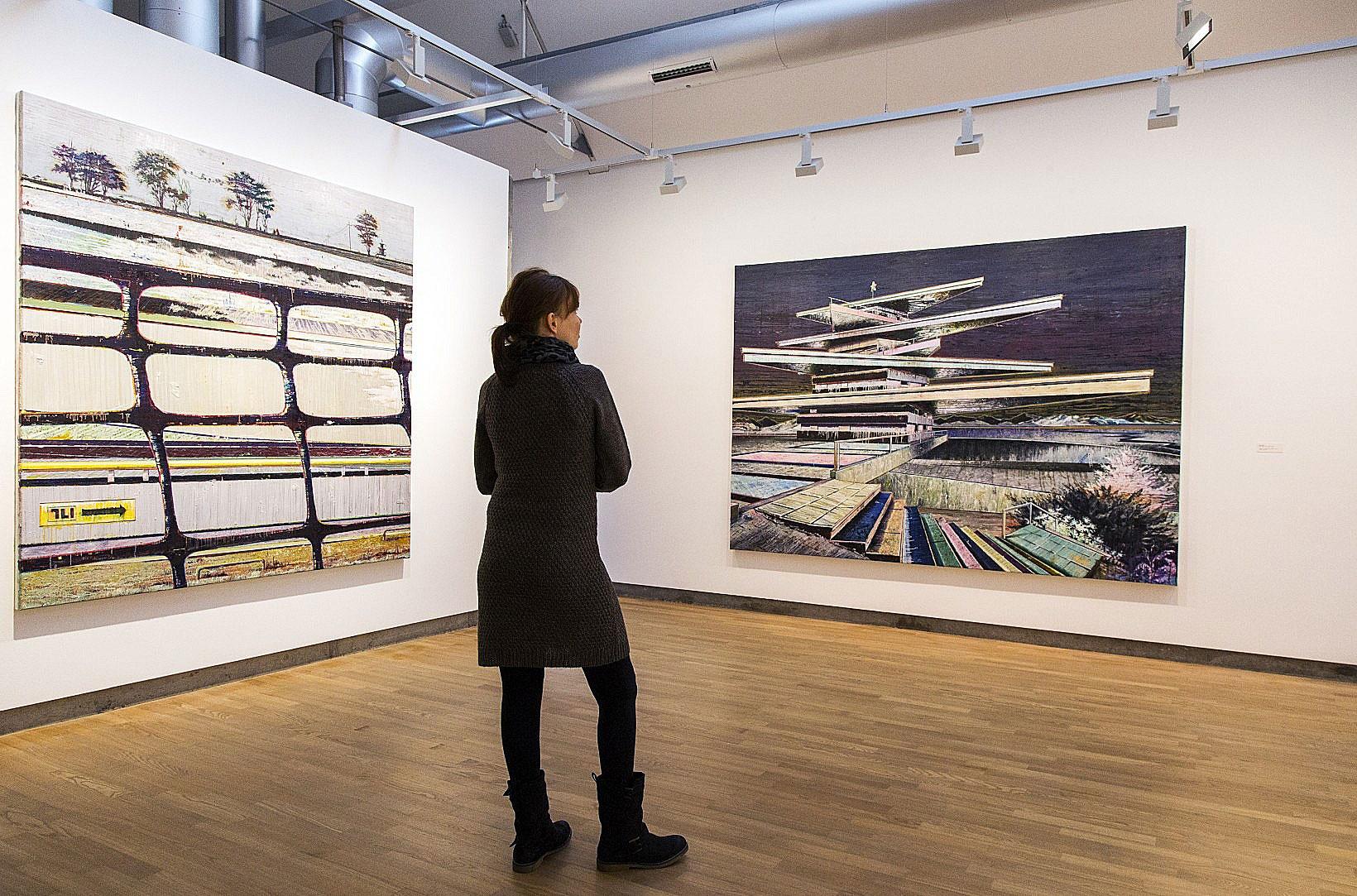 Lightboard gross  eur erco municipal gallery bietigheim bissingen image 1 8