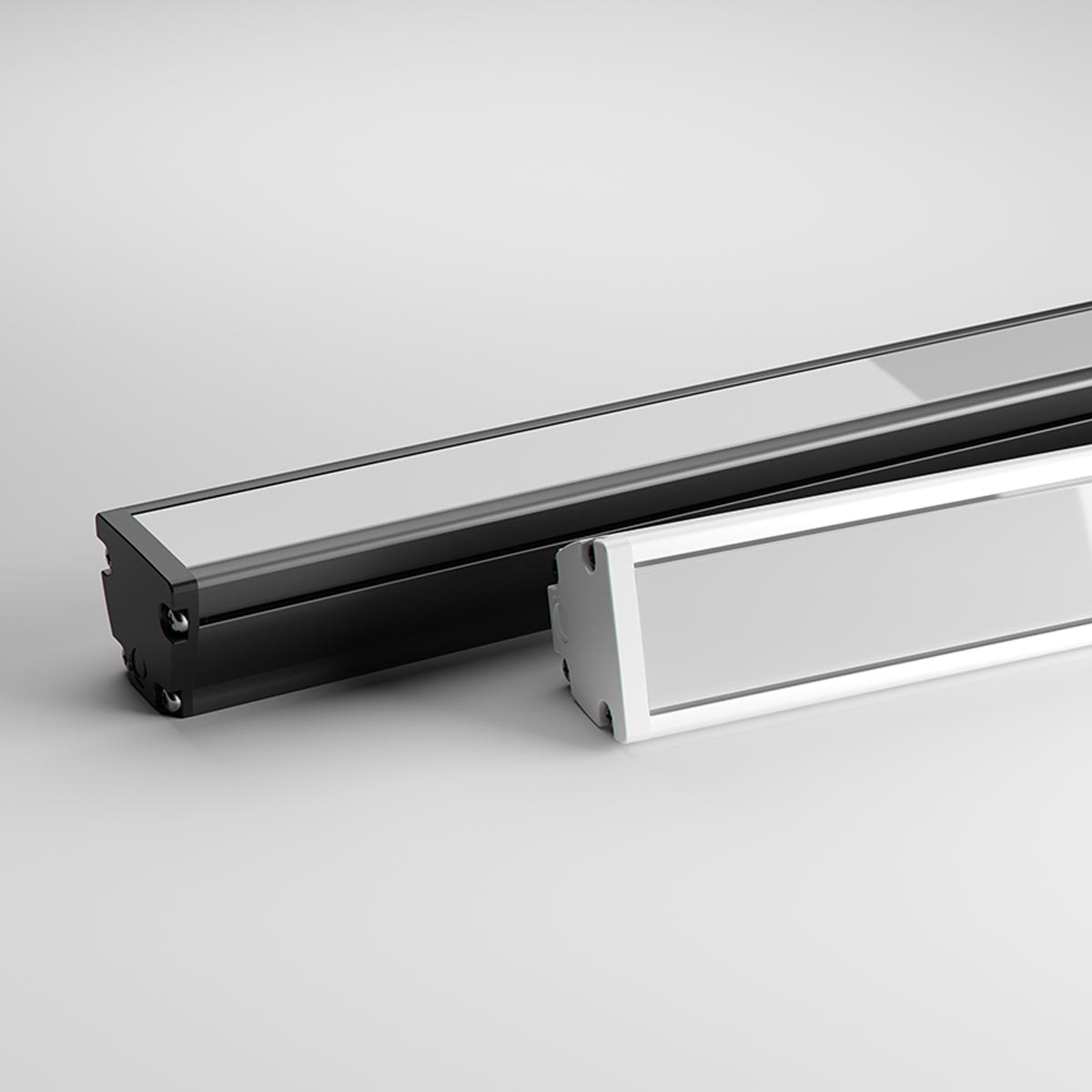 Max Mini UG - Linear Medium Power Luminaire with Homogeneous Light Output (28W or 40W)