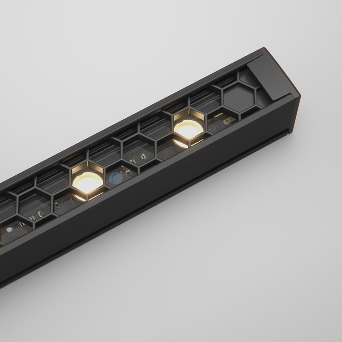 Ratio - Compact Linear Luminaire with Precise Optics and Glare Control (11W or 23W)