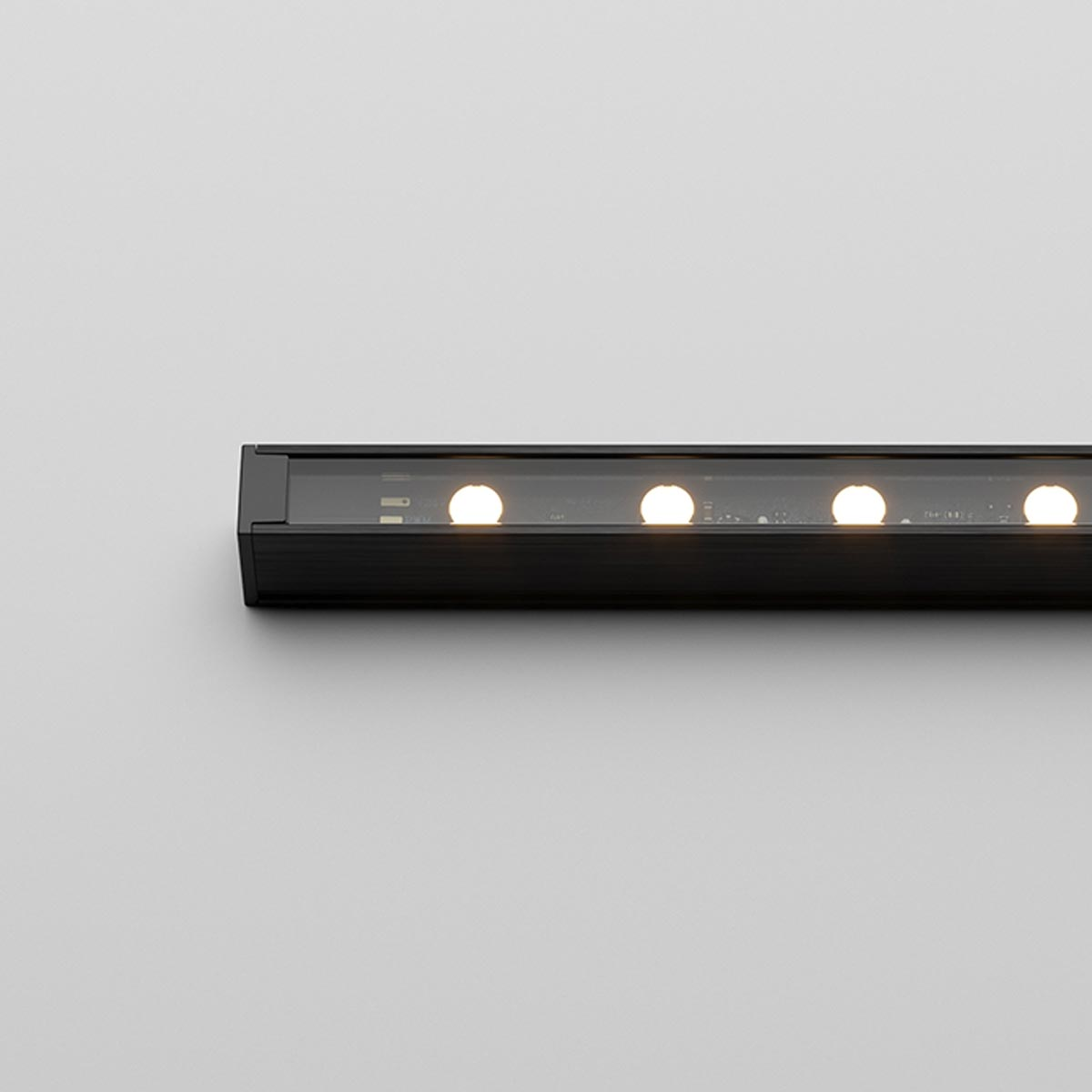 Ratio C IP - Compact Exterior Linear Luminaire with Optical Control and Colour Output Options (11W or 23W)