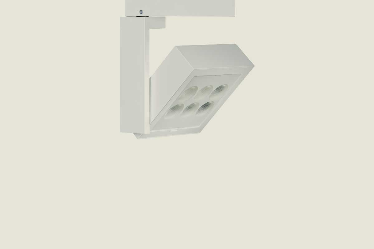 Product landing int track fixtures