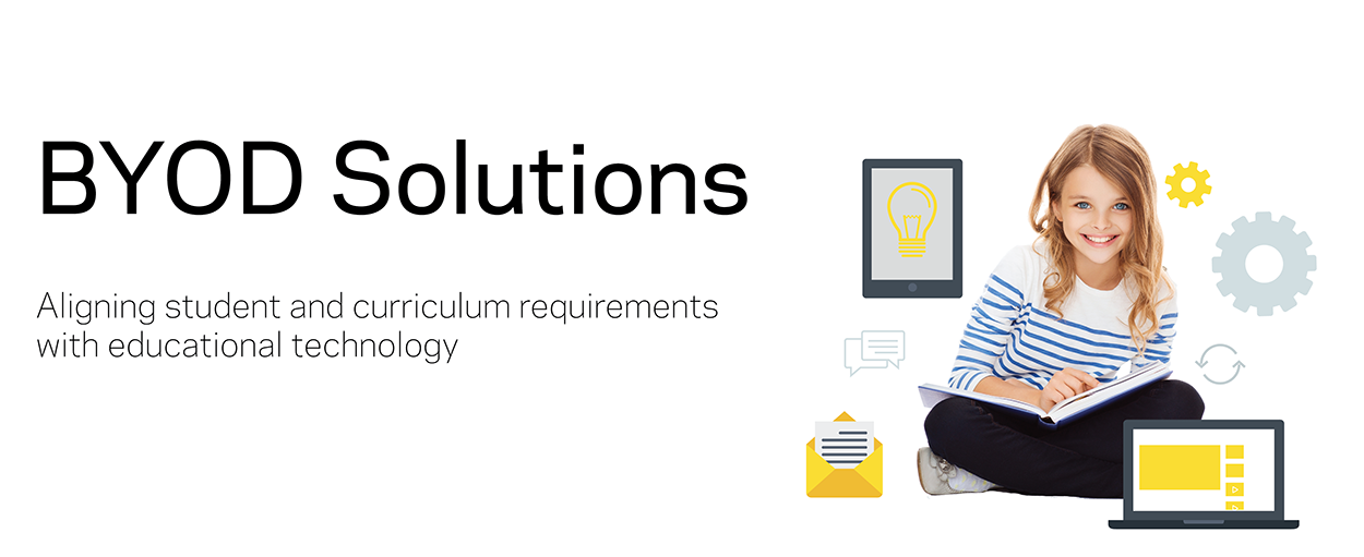 BYOD Solutions - Aligning student and curriculum requirements with educational technology.