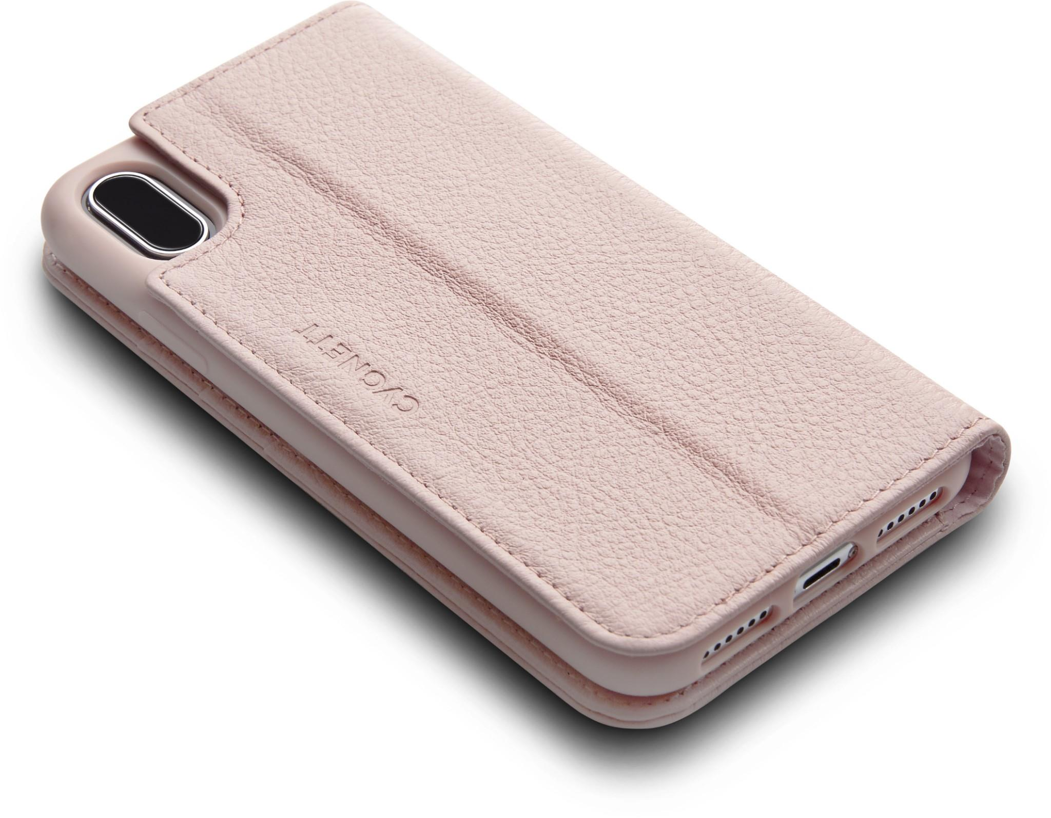 online retailer ed853 a37e7 JB Education | Cygnett CitiWallet Leather Case for iPhone X (Pink)