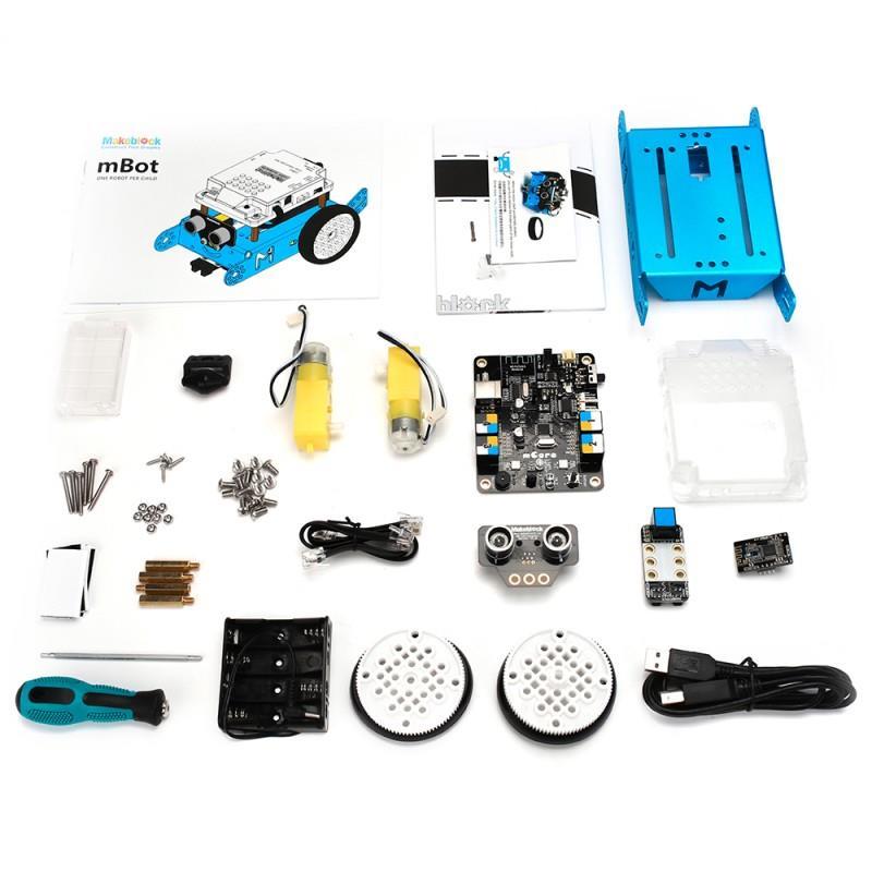 JB Education   MakeBlock mBot V1 1- Blue (Bluetooth Version)