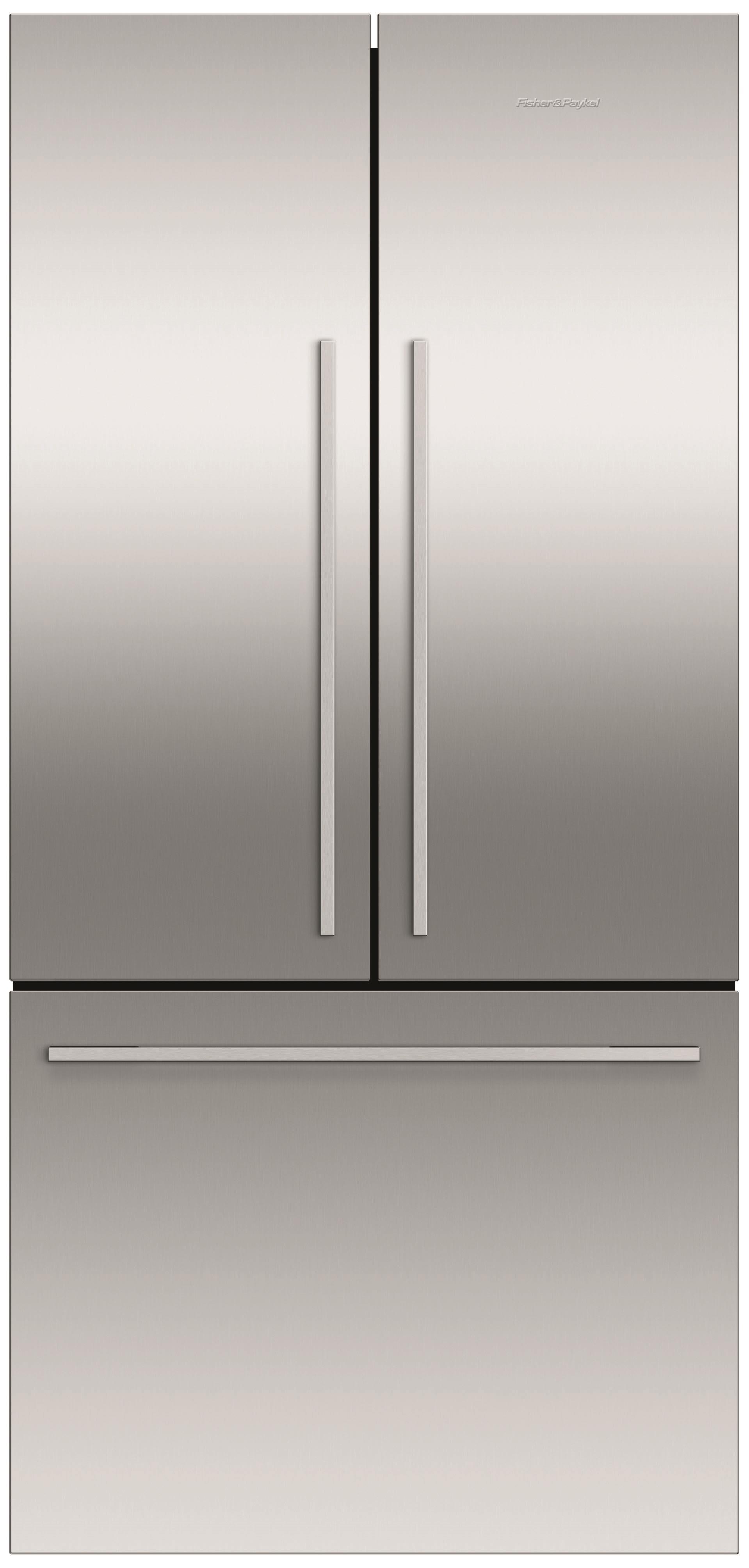 fisher u0026 paykel activesmart rf522adjx5 519l french door fridge ssteel
