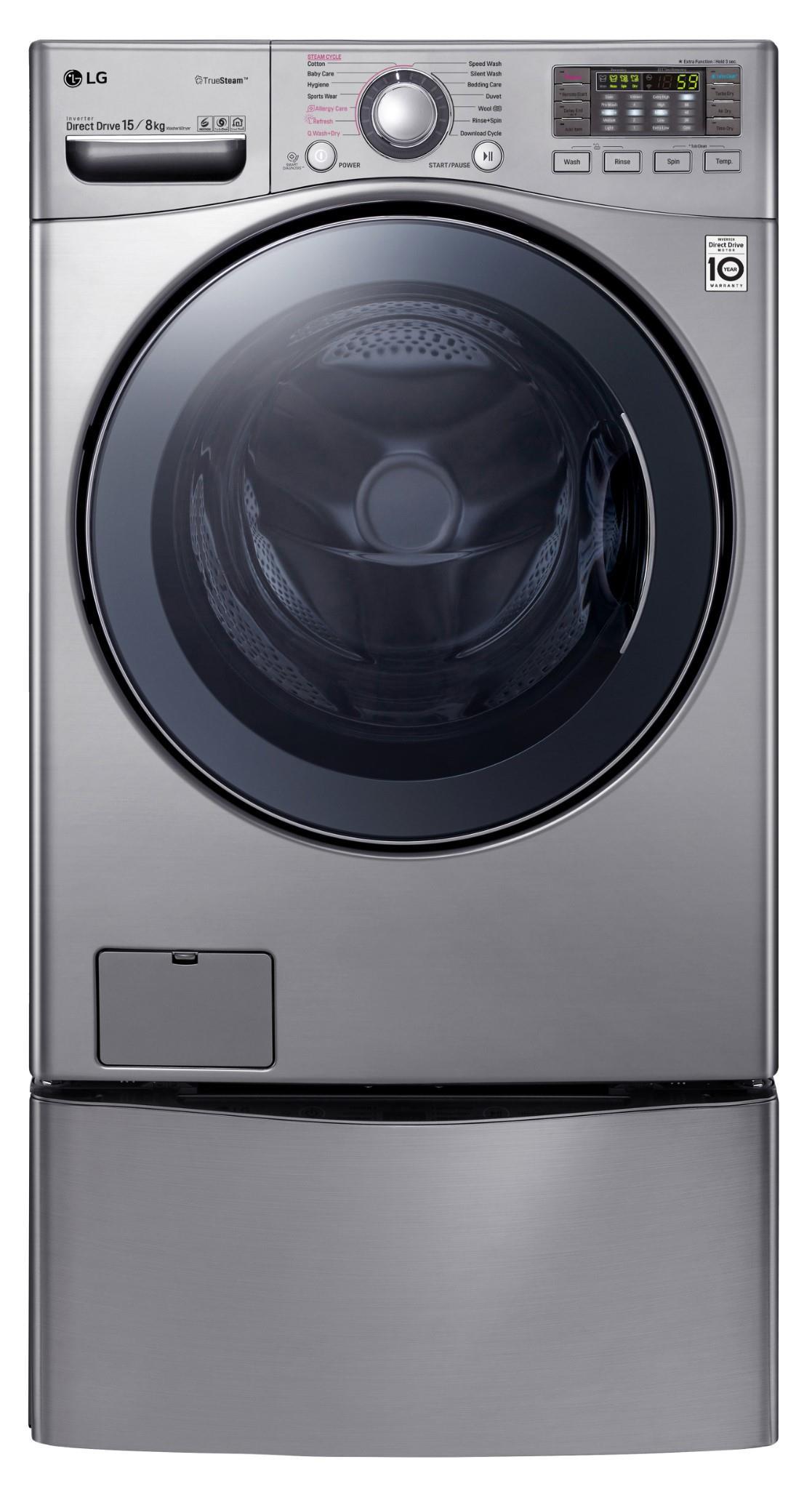 JB Education | LG TWINWash 15kg / 8kg Front Load Washer & Dryer