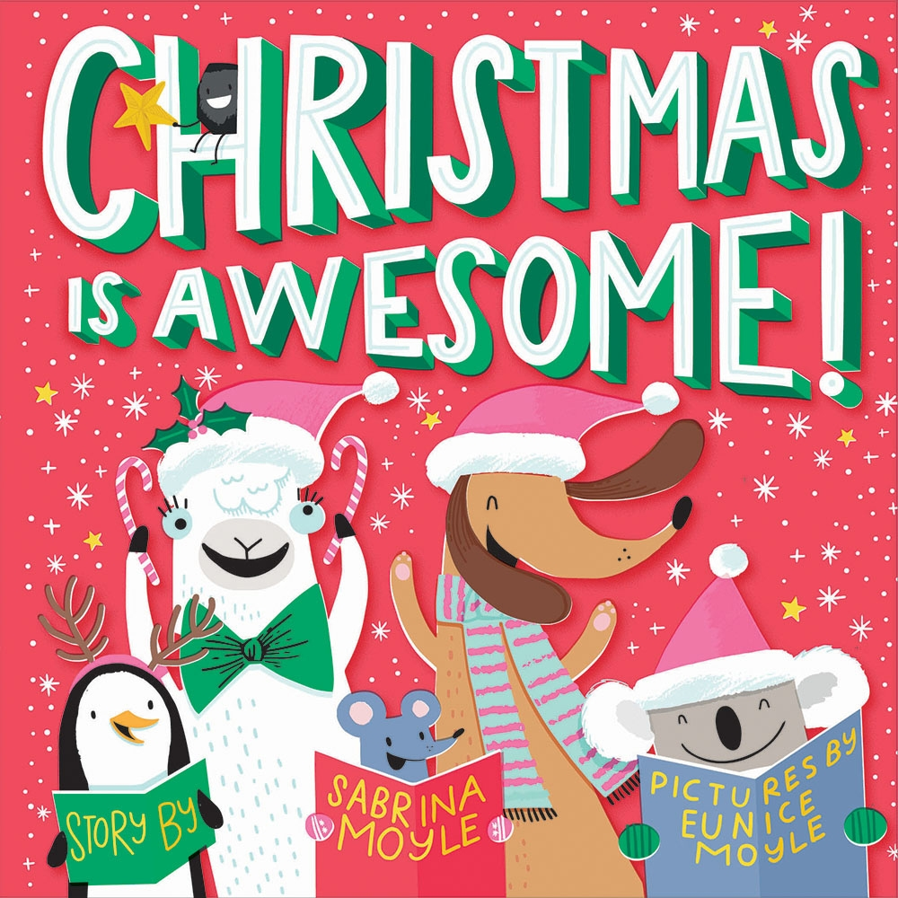 Christmas In Australia Book.Christmas Is Awesome A Hello Lucky Book