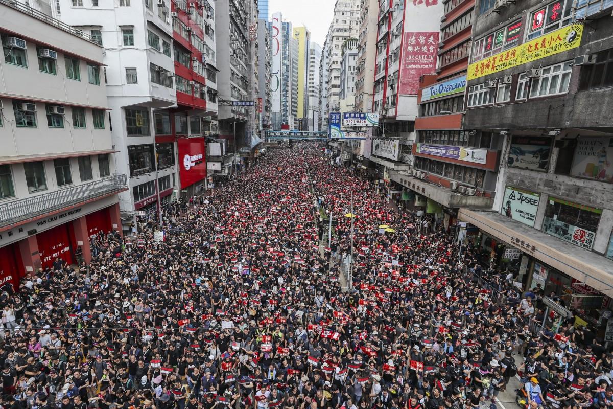 Hong Kong Descends into Despair