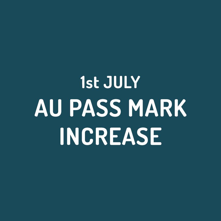 Australian Pass Mark Increase for General Skilled Migration Visas