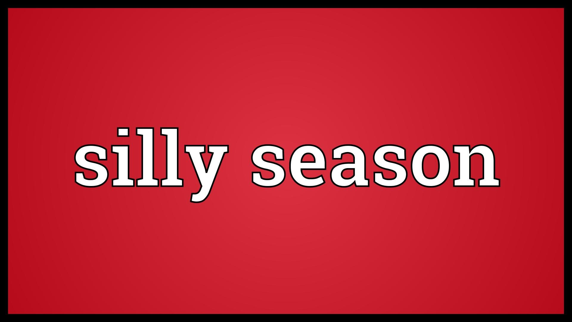 The Silly Season