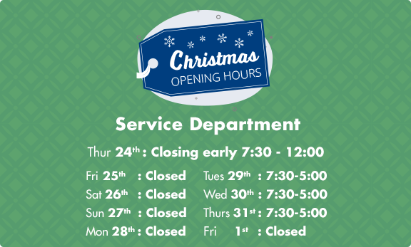 Service Opening Hours