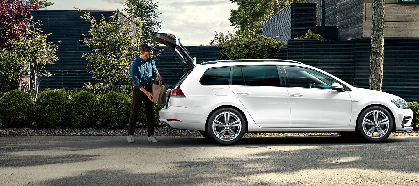 Golf Wagon Whitetext