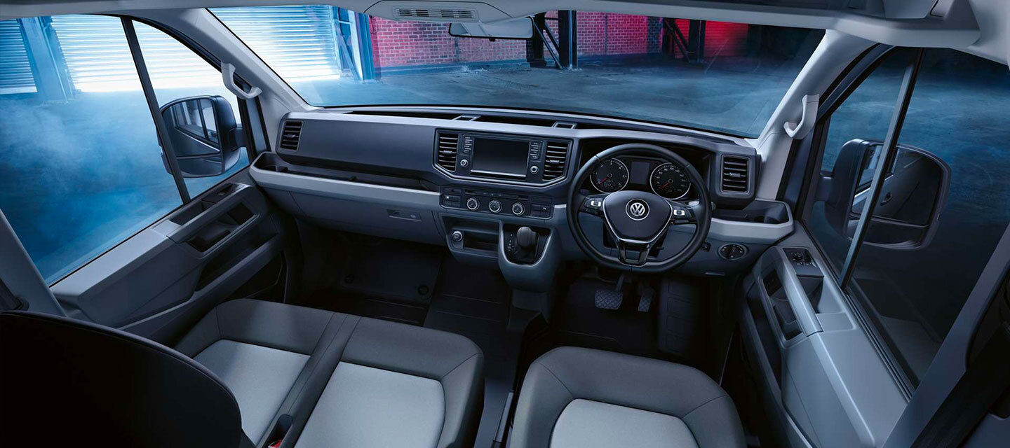 Crafter Cab Chassis Interior
