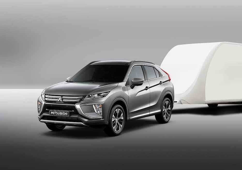 Eclipse Cross With Trailer