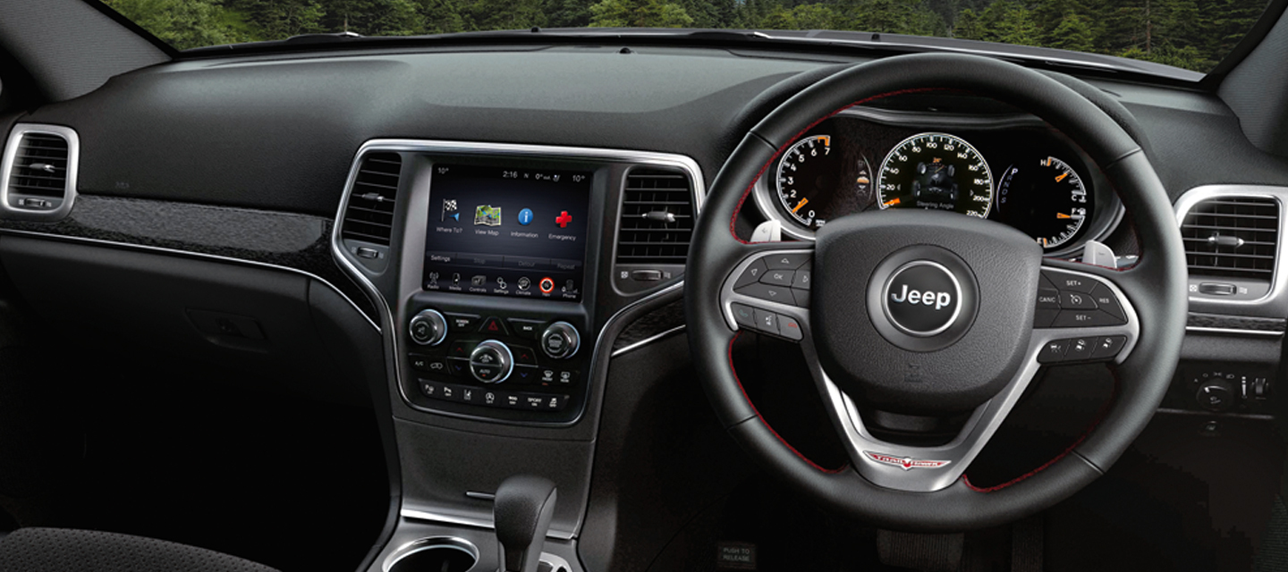Grand Cherokee Interior Main Image