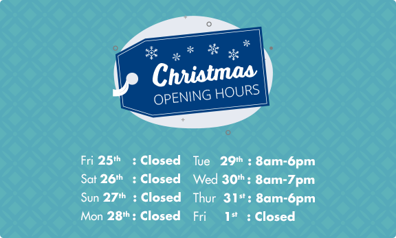 Sales Opening Hours