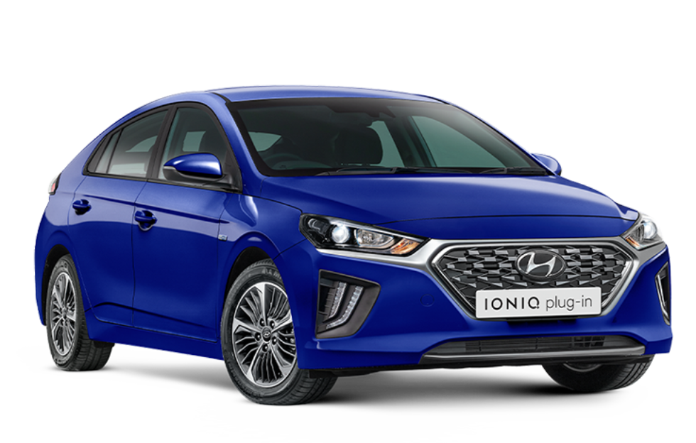 IONIQ Plug-in Hybrid Elite - Intense blue