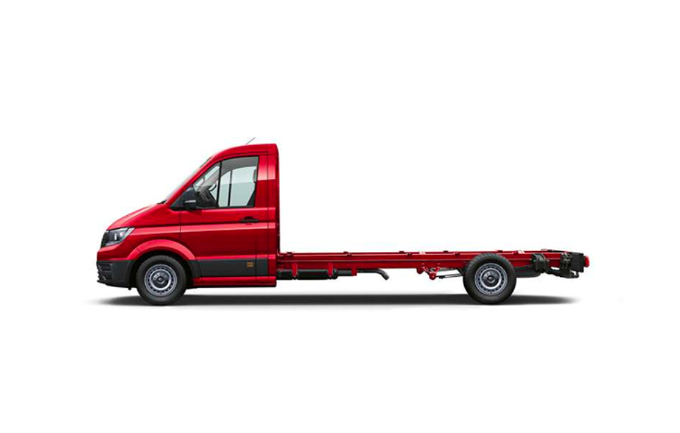 Single Cab Chassis - Red