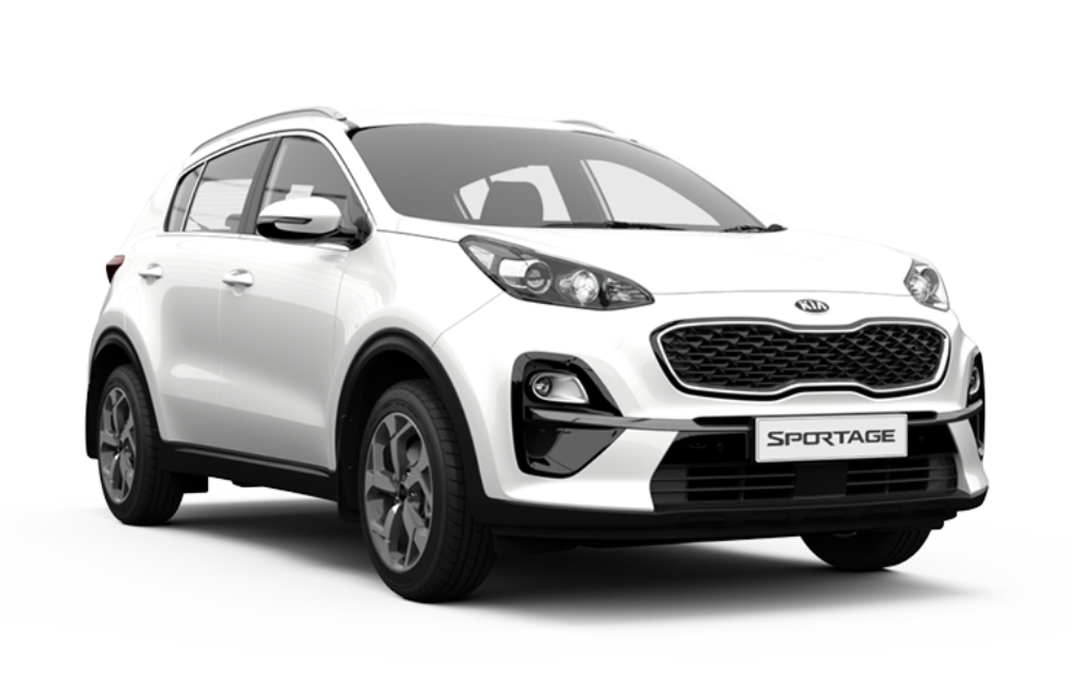 Sportage S - Clear white