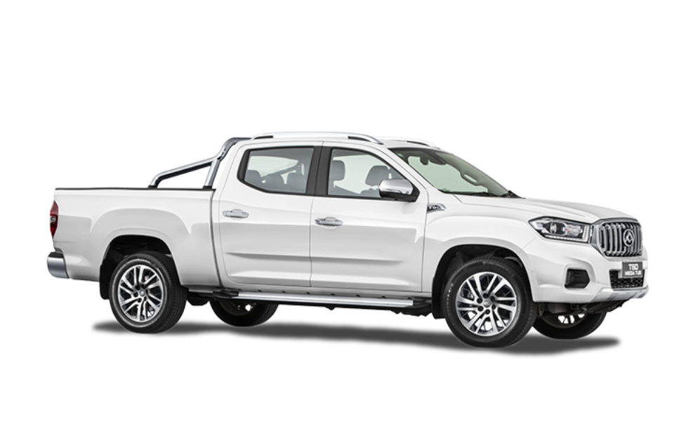 T60 Mega Tub Ute - White