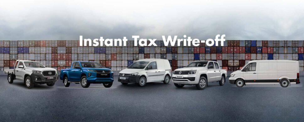 Instant Tax Write Off