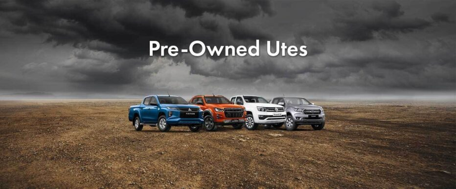 Pre Owned UTES Banner 1440x600