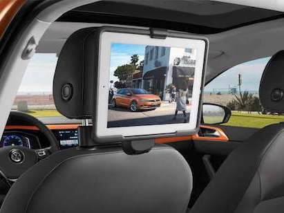 Polo tablet holder