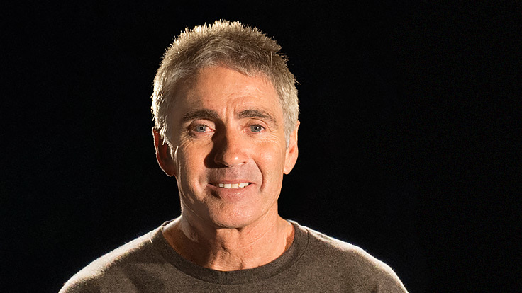 Portrait of Mick Doohan, an Australian former Grand Prix motorcycle road racing World Champion