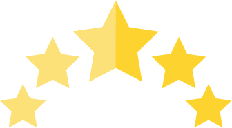 Safety rating stars icon