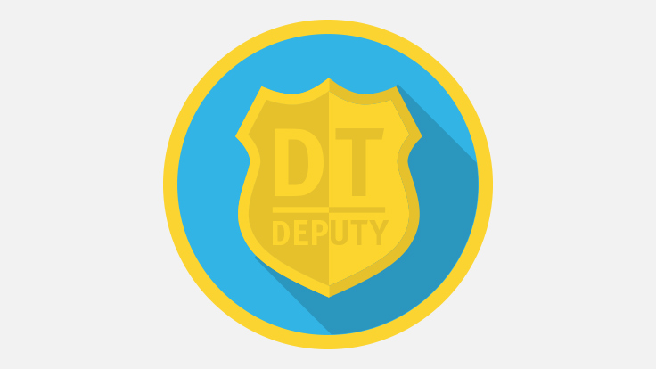 Sherriffs badge