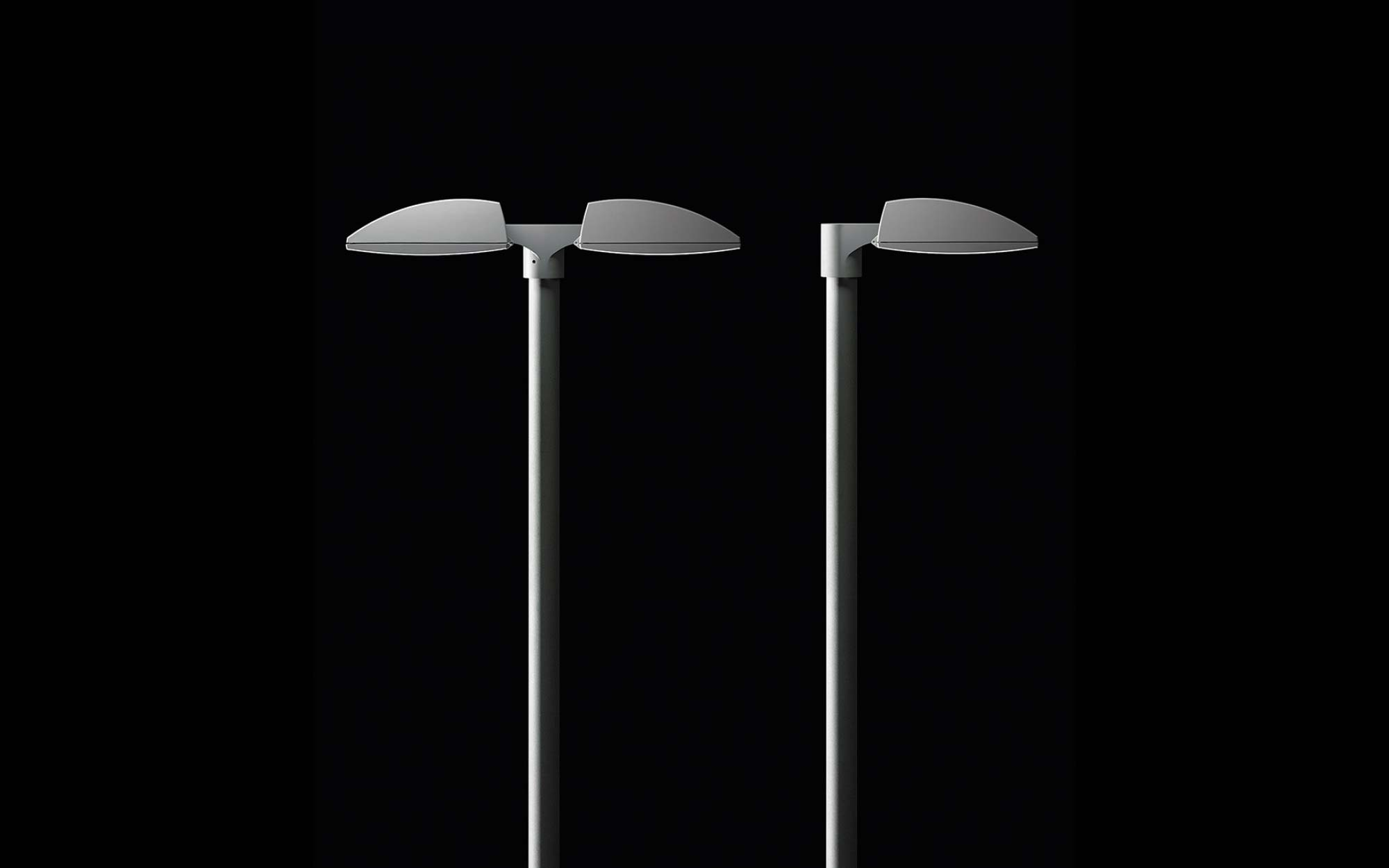 Landing products outdoor pole fluxa 01