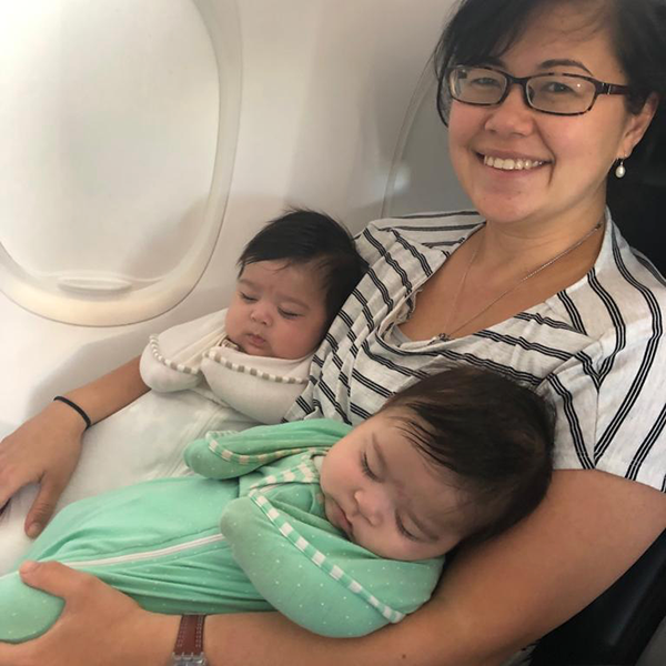 Travelling with newborn twins – Your how to guide