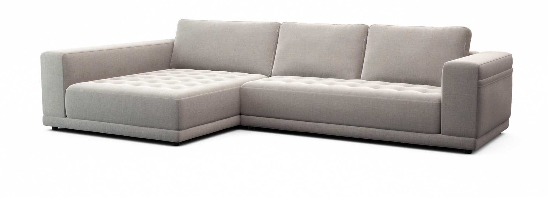 Felix modular sofa deep seat comfort tufted seat lounge couch king living
