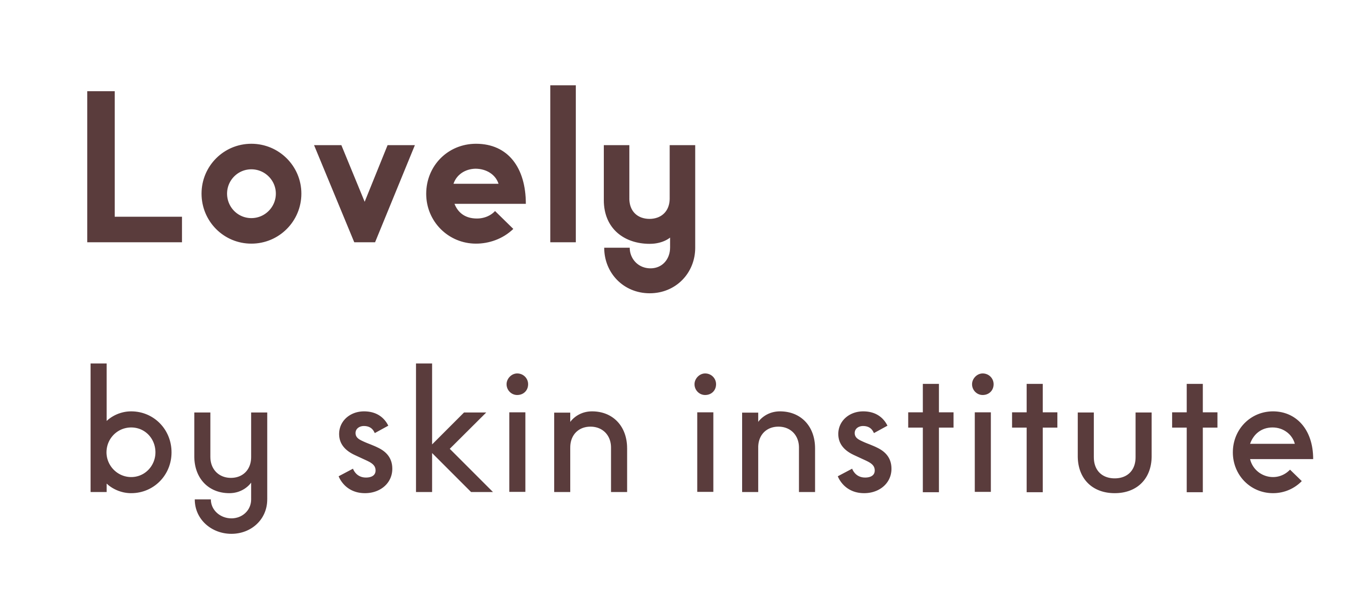 Lovely by Skin Institute logo