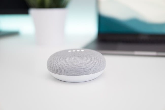 voice based technology - google home