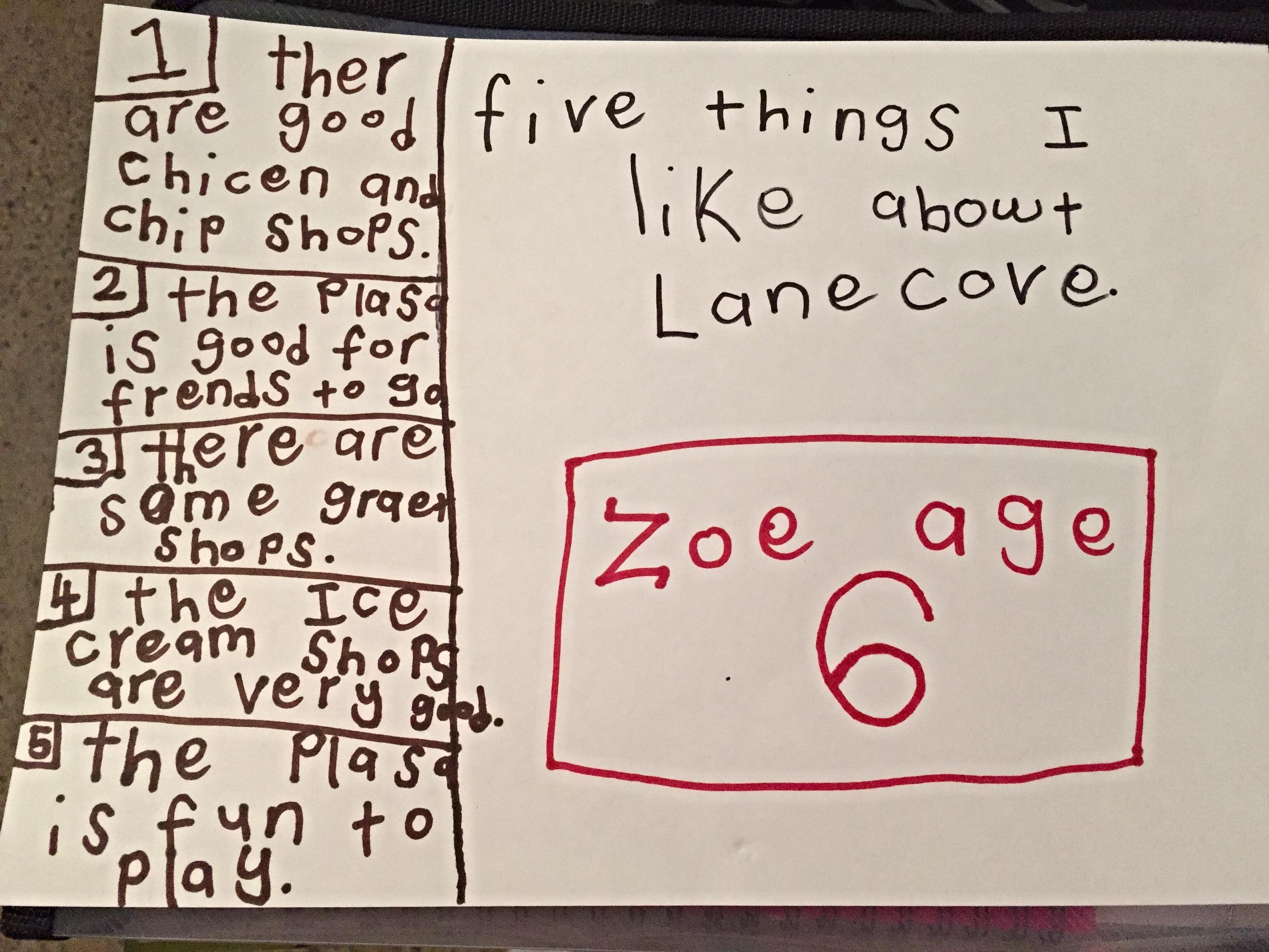 Kids in Lane Cove