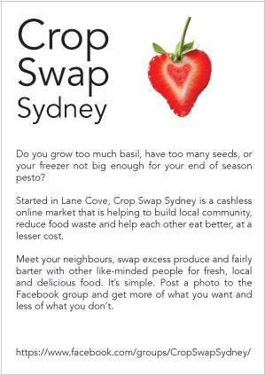 Crop Swap Lane Cove