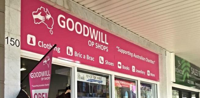 Goodwill op shop lane cove